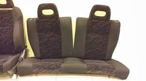 honda civic ek4 sir 3dr rear seats only