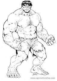 Lincredibile Hulk Disegno Da Colorare