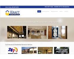 Envision Design Llc Kraft Electric Website Design Tacoma Seo Hosting Envision