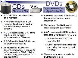 dvd vs cd storage devices storage devices are categorized by the method they