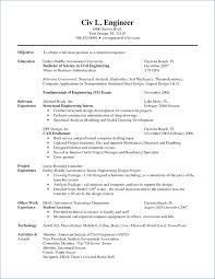 Mechanical Design Engineer Resume Objective Bestresumeideas Com