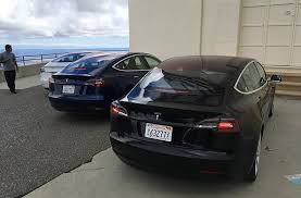 2018 tesla 0 60. interesting 2018 the chunky black steering sports two rounded scroll buttons that flank the  tesla logo and horn windshield wiper high beam controls are located on  throughout 2018 tesla 0 60