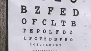 Dont Change The Dmv Eye Chart Kplr11 Com