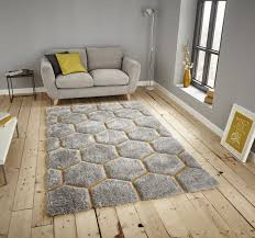 think rugs noble house nh30782 rugs grey yellow