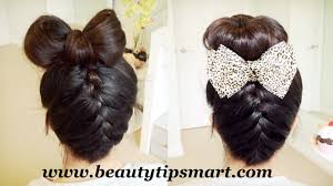 prev next cute bow hairstyles for long hair step easily