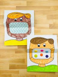 The biggest collection of printable paper masks for kids to make and play with! Mask Coloring Art For Kids Hello Wonderful