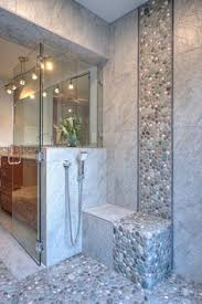 Small Picture 65 Bathroom Tile Ideas Water flow Columns and Pebble mosaic