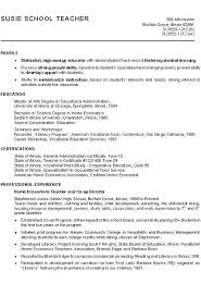 Profiles On Resumes Professional Examples Of Profiles On Resumes Teacher For Mysetlist Co