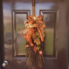 Fall Broom Decoration Home Decorating Ideas