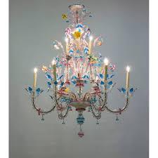 italian ca rezzonico chandelier in the galliano ferro style