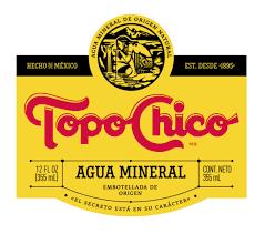 lettering topo chico