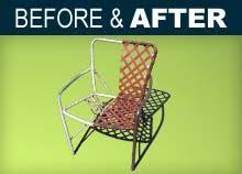 Patio Furniture Repair Outdoor Furniture Finishing