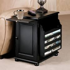 tall black end table ideas tiny round side inch accent with storage wooden lamp tables drawers