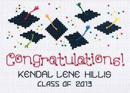 Congratulations Cross Stitch Nordic Needle