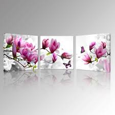 2018 magnolia blossom time canvas prints beautiful flowers picture art prints romantic flora canvas art modern home decoration wall from creativearts  on magnolia canvas wall art with 2018 magnolia blossom time canvas prints beautiful flowers picture