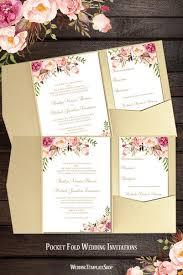 pocket fold wedding invitations romantic blossoms wedding Wedding Invitations With Pockets Diy pocket fold wedding invitations diy romantic blossoms wedding invitations with pockets diy