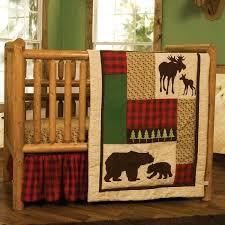 plaid crib bedding sets alligator madras
