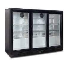 glass door konor 330l under counter bar