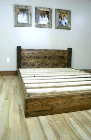 diy king bed frame. Contemporary Bed Sophisticated Diy King Bed Frame Homemade Frames Ideas Where  To Begin From Throughout Diy King Bed Frame D