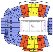 Vaught Hemingway Stadium Sports Tickets For Sale Ebay