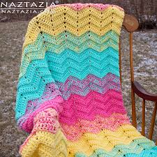 Ripple Afghan Patterns Interesting 48 Easy Ripple Crochet Blanket Patterns Dabbles Babbles