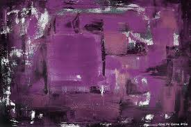 abstract painting purple abstract by gina de gorna