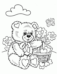 100+ [ Bear Color Pages ]   Polar Bear Printable Coloring Pages ...