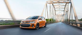 The Compact 2017 Chevrolet Sonic Packs a Punch