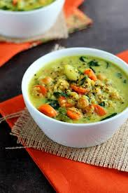 One of the main spices in curry powder, turmeric, may aid in better blood sugar control and improve insulin sensitivity. Chickpea Vegetable Coconut Curry Soup I Love Vegan