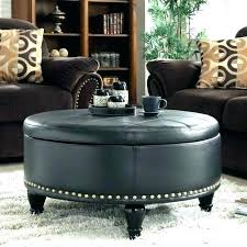 round leather tufted ottoman. Square Ottoman Coffee Table Fabric Round Leather Tufted B