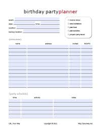 Party Planning Templates Party Plan Template 24 Party Planning Templates And Ideas