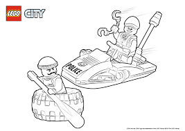 Small Picture Tire Escape Colouring Page LEGO City Activities City LEGOcom