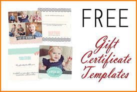 Photography Gift Certificate Template 8 Photography Gift Certificate Template Memo Templates