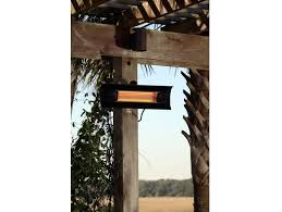 fire sense black steel wall mounted infrared patio heater fir hea 60460 by patio com