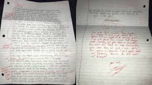 Student Grades His Ex Girlfriend S Apology Letter And Posts It On