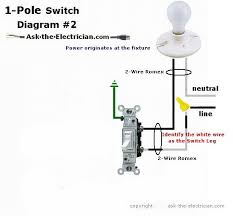 wiring diagram for a single pole light switch readingrat net 2 Pole Light Switch Wiring Diagram easy to understand wiring for switches,wiring diagram,wiring diagram for a single pole 2 pole light switch wiring diagram
