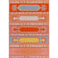 artistic weavers sajal muse poppy red 4 ft x 6 ft indoor outdoor