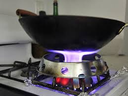 gas stove flame. The Wok Mon Converts Your Home Burner Into A Range. For Real. Gas Stove Flame