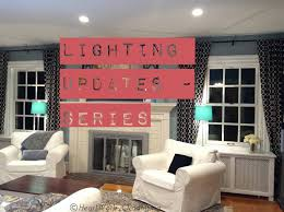Old Work Led Can Lights Lighting Updates Led Recessed Lights Part 1