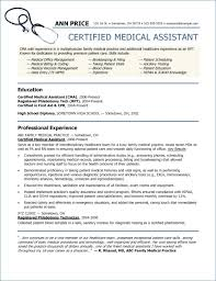 Administrative Assistant Objective Statement Awesome Medical Office Assistant Resume Elegant Medical Assistant Duties