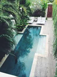 Beautiful Long Pool In Tiny Backyard