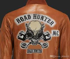 2018 14 mc road hunter skull large patch for biker leather jacket back whole from jxconch 10 06 dhgate com