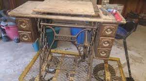 How To Restore A Treadle Sewing Machine