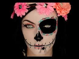 sugar skull inspired makeup tutorial