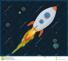 Image result for cartoon rocket ship