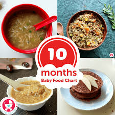 10 months baby food chart with indian