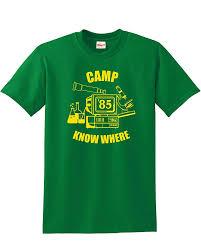 Artisan Ny Size Chart Mars Ny Unisex Stranger Camp Know Where Trendy Top Cool Shirt