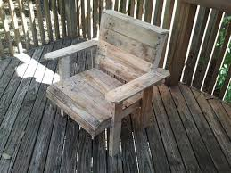 ... DIY patio furniture projects! Pallet Deck Chair