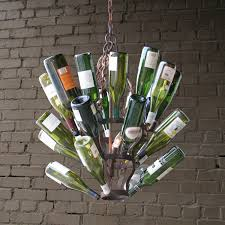 one other image of wine bottle chandelier package