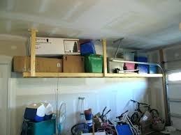 diy garage ceiling shelf shelves overhead how to build heavy duty fresh furniture excellent shelve storage